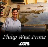 All Philip West aviation art in one place and great print prices.